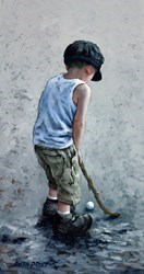 This for a Birdie by Keith Proctor -  sized 18x34 inches. Available from Whitewall Galleries